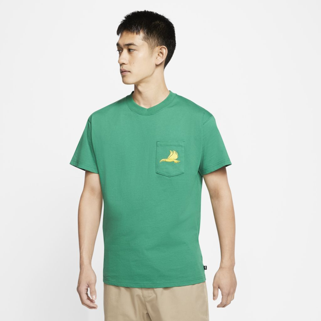 Camiseta Nike SB x Tokyo 2020 Team Brasil Verde