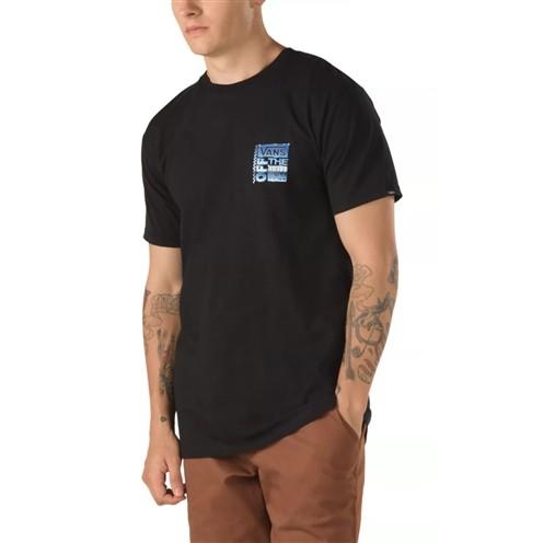 Camiseta Vans Ave Chrome SS Preta