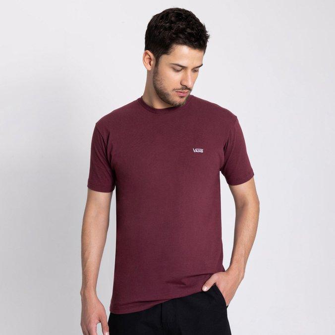 Camiseta Vans Core Basics Tee Vinho