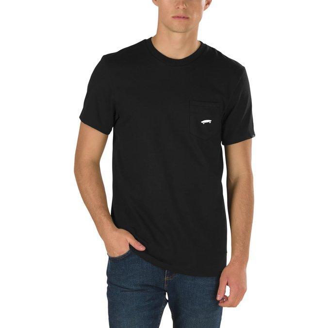 Camiseta Vans EveryDay Pocket Tee II Preta