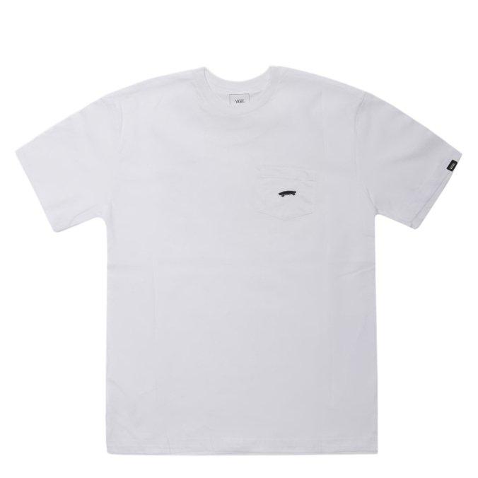 Camiseta Vans EveryDay Pocket Tee II Branca