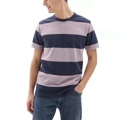 Camiseta Vans Gibson Stripe Dress Blues