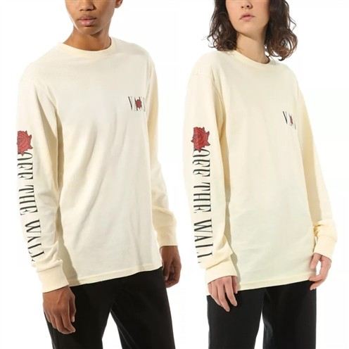 Camiseta Vans MN Kyle Walker Rose LS Antique White