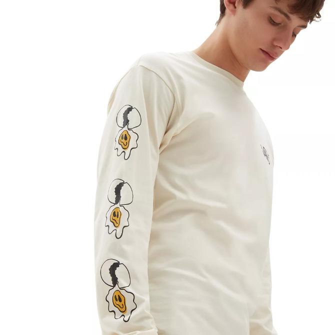 Camiseta Vans MN Micro Dazed Egg LS SpeedPearl