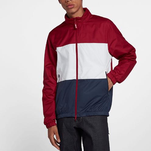 Jaqueta Nike SB Dry Shield MidNight Red/White