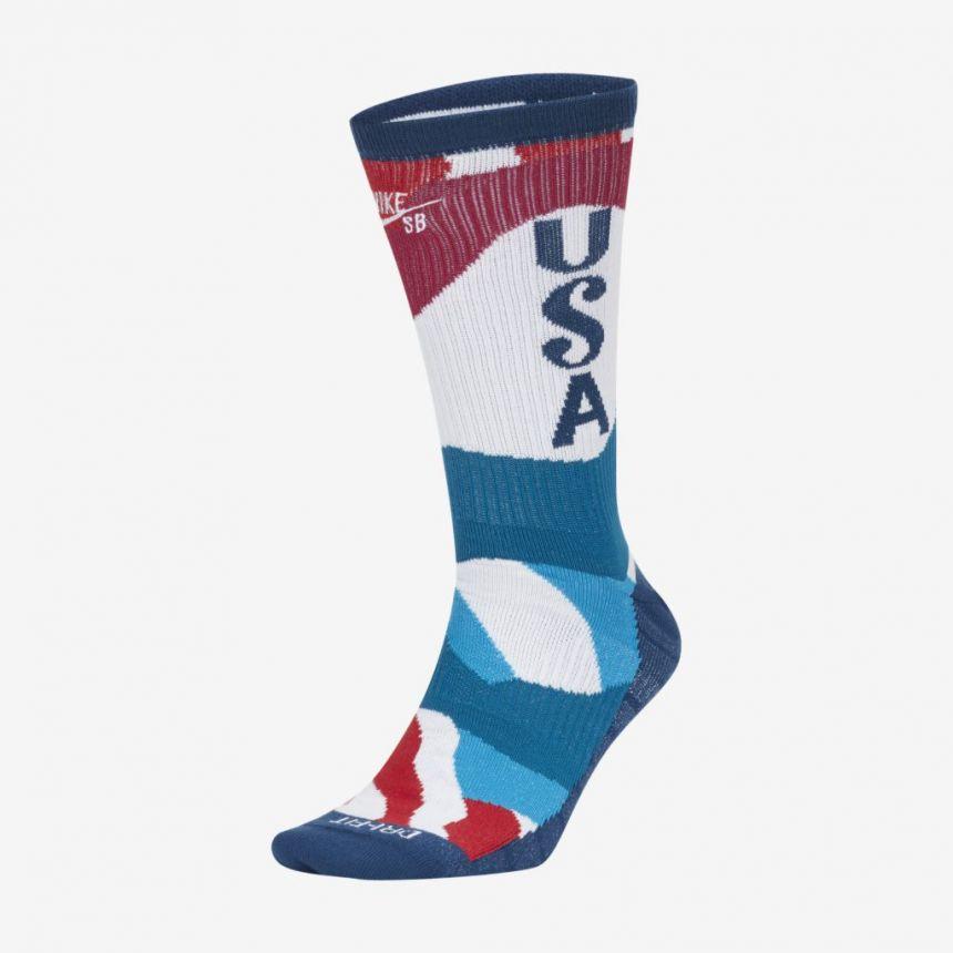Meia Nike SB x Tokyo 2020 USA