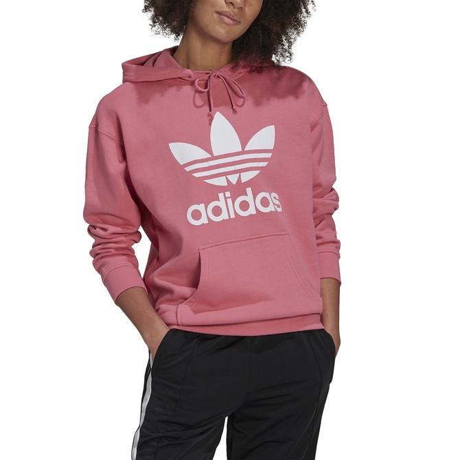 Moletom Adidas Adicolor Trefoil Rosa