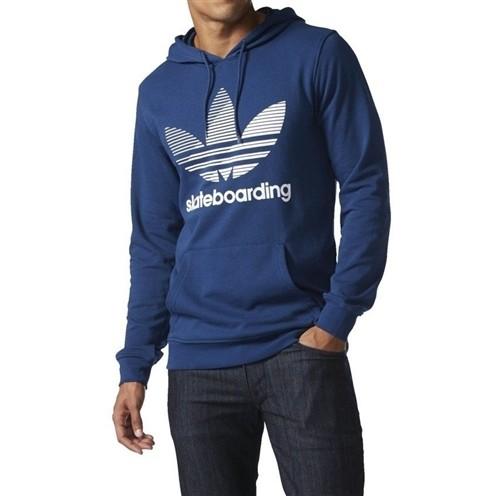 Moletom Adidas Logo Remix Azul