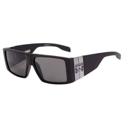 Óculos Evoke Bomber A01 Black Matte Gun Gray Total