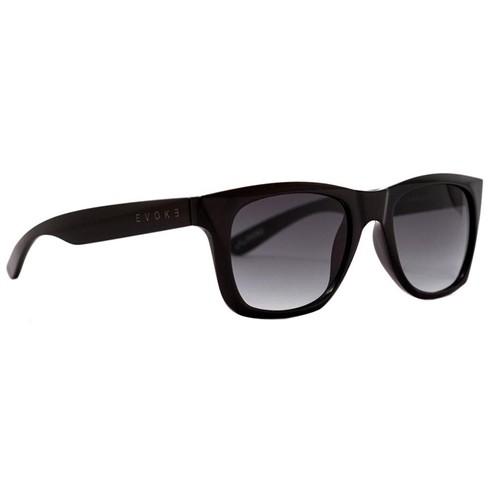 Óculos Evoke Diamond 1 A01G Black Shine Gray Gradient