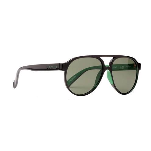 Óculos Evoke x New Era - EVK 25 NE01 Black Shine Green G15 Total