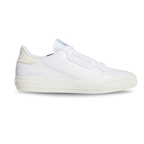 Tênis Adidas Continental Vulc x Unity Branco
