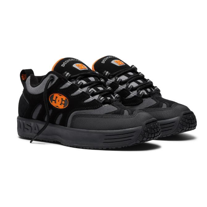 Tênis DC Shoes Lukoda Black/Grey