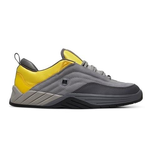 Tênis DC Shoes Williams Slim Cinza/Amarelo