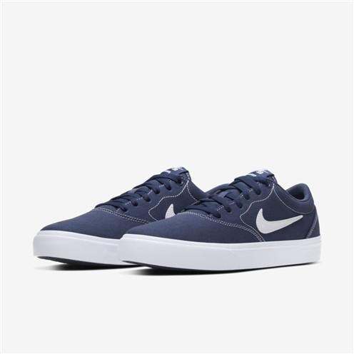 Tênis Nike SB Charge CNVS Midnight Navy/White