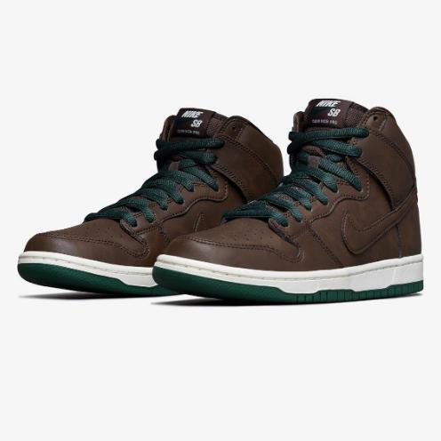 Tênis Nike SB Dunk High Pro Baroque Brown