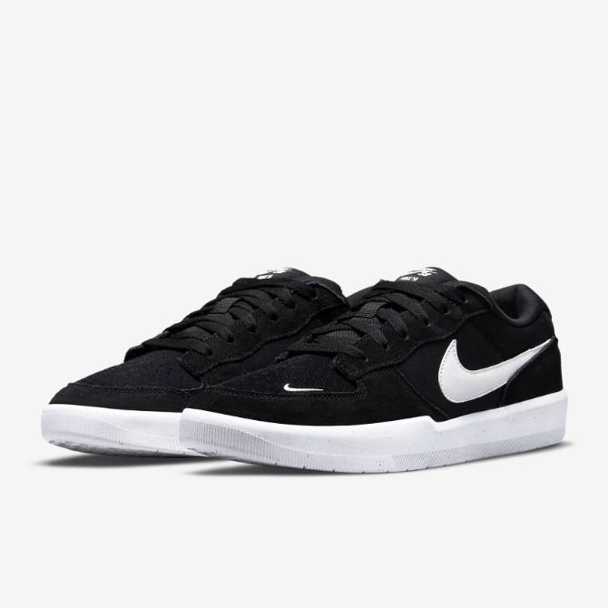 Tênis Nike SB Force 58 Preto/Branco