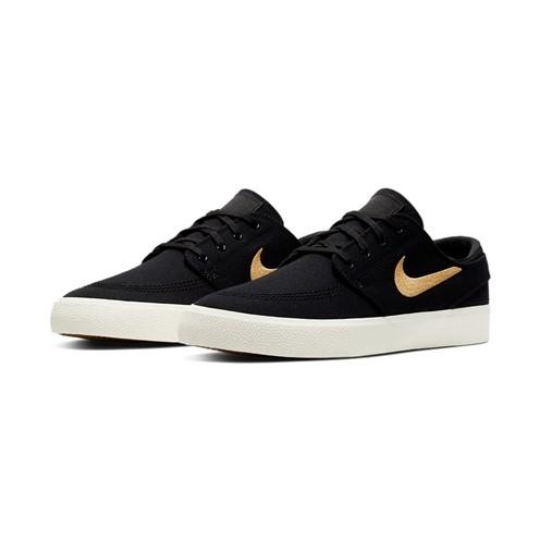 Tênis Nike Zoom Janoski Canvas RM Black/Gold