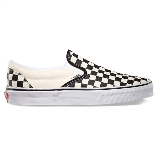 Tênis Vans Classic Slip On Checkerboard Black/White