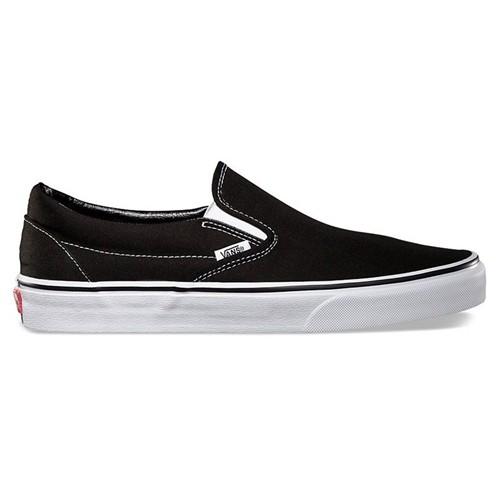 Tênis Vans Classic Slip On Preto/Branco