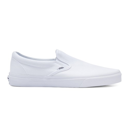 Tênis Vans Classic Slip On True White