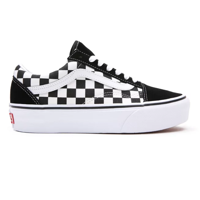 Tênis Vans Old Skool Plataforma (Checkerboard)