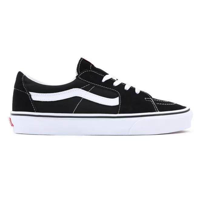 Tênis Vans Sk8 Low Black/True White