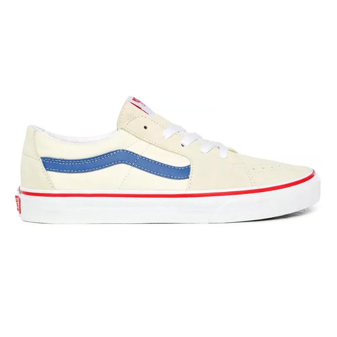 Tênis Vans Sk8 Low Classic White/Navy