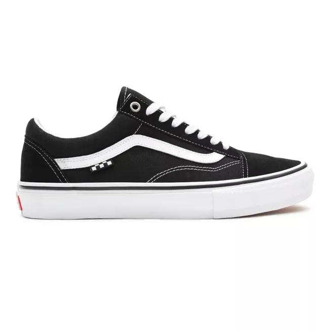Tênis Vans Skate Old Skool Black/White