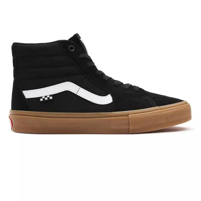 Tênis Vans Skate Sk8 Hi Black/Gum
