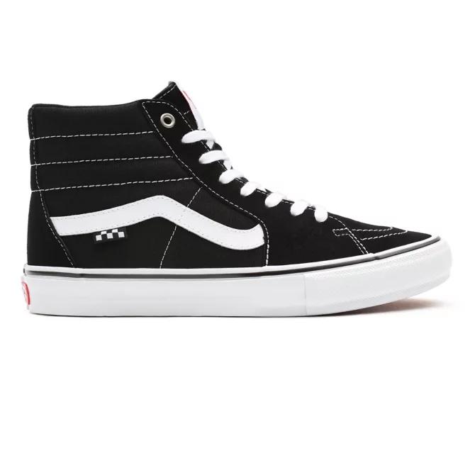Tênis Vans Skate Sk8 Hi Black/White