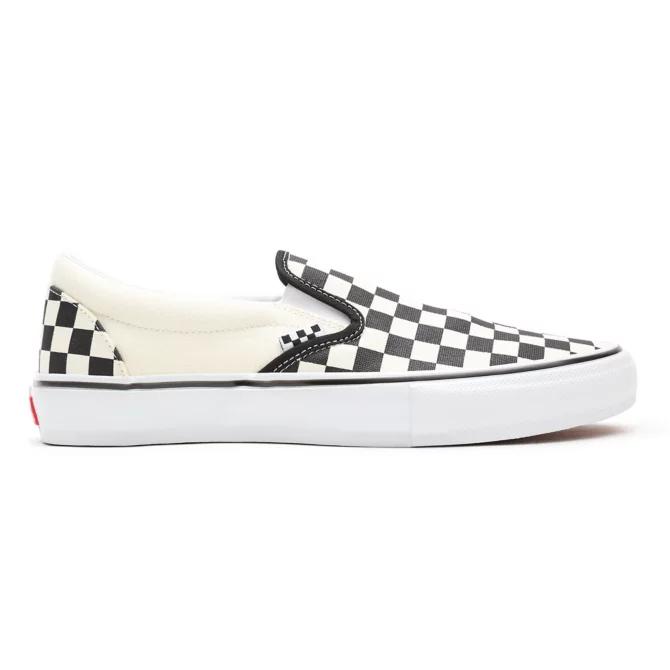 Tênis Vans Skate Slip On Checkerboard Black/Off White