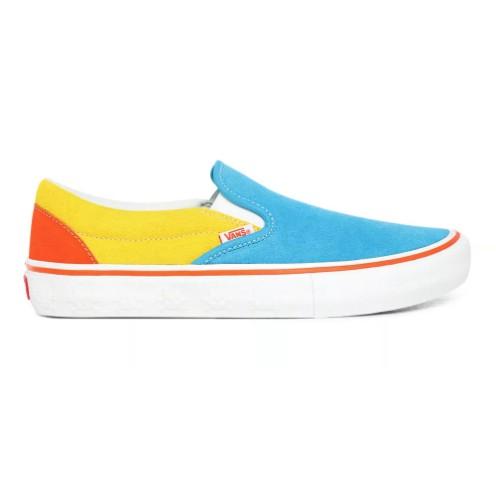Tênis Vans Slip on Pro The Simpsons BI/Yellow
