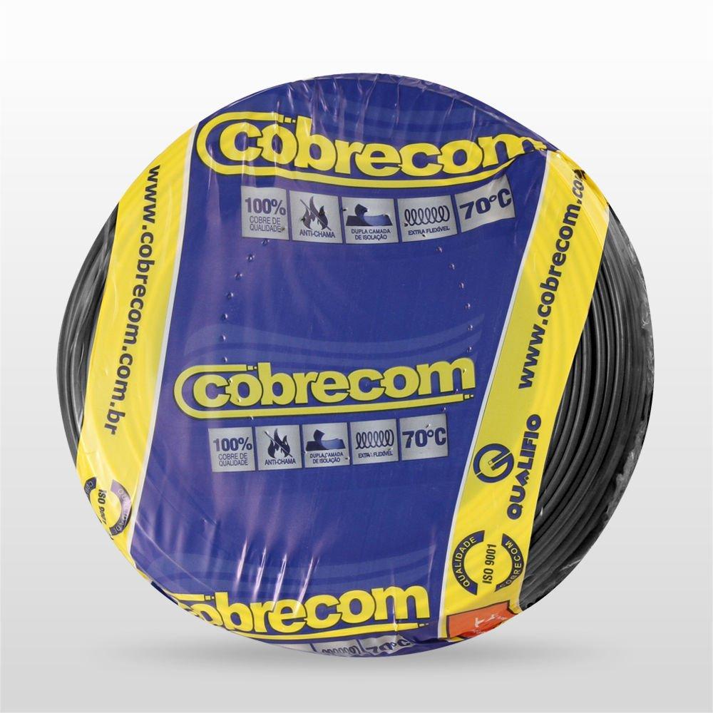 CABO FLEXIVEL SING 750V 2.5MM PT (RL) COBRECOM 1150504401