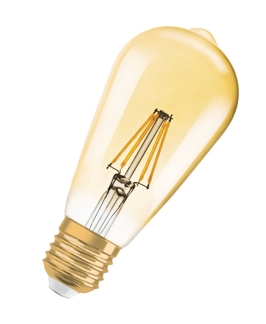 LAMPADA LED FILAMENTO E27 4.5W BIVOLT EDSON ST64 OSRAM/LEDVANCE 7014556