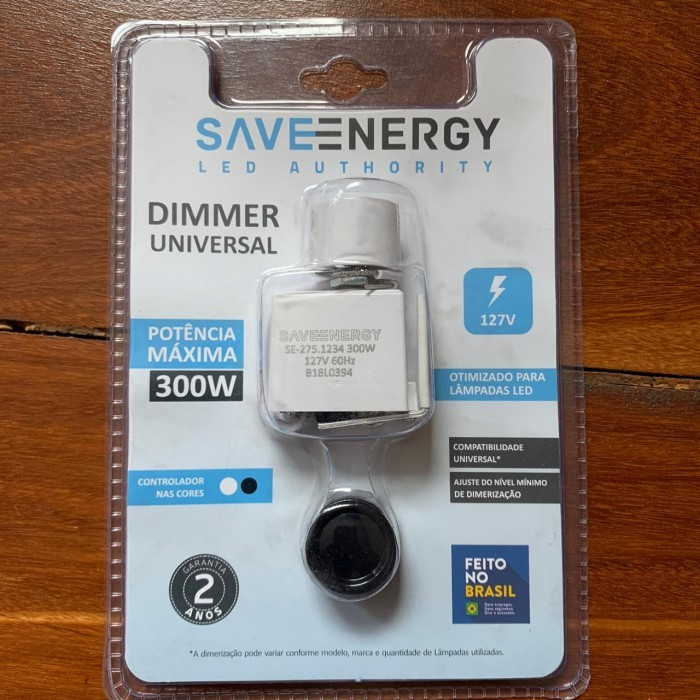 MODULO DIMMER ROT LED 300W 127V SAVE ENERGY SE2751234