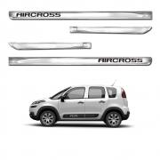 Friso Lateral Cromado X-treme Personalizado Aircross 4 Portas