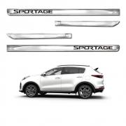 Friso Lateral Cromado X-treme Personalizado Sportage 4 Portas
