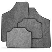Tapete Automotivo Carpete Soft Grafite Borda Preta Modelo A