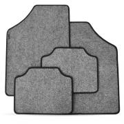 Tapete Automotivo Carpete Soft Grafite Borda Preta Modelo C
