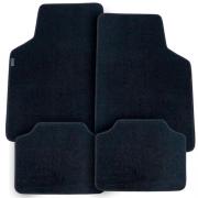 Tapete Automotivo Carpete Soft Preto Modelo B