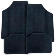Tapete Automotivo Carpete Soft Preto Modelo C