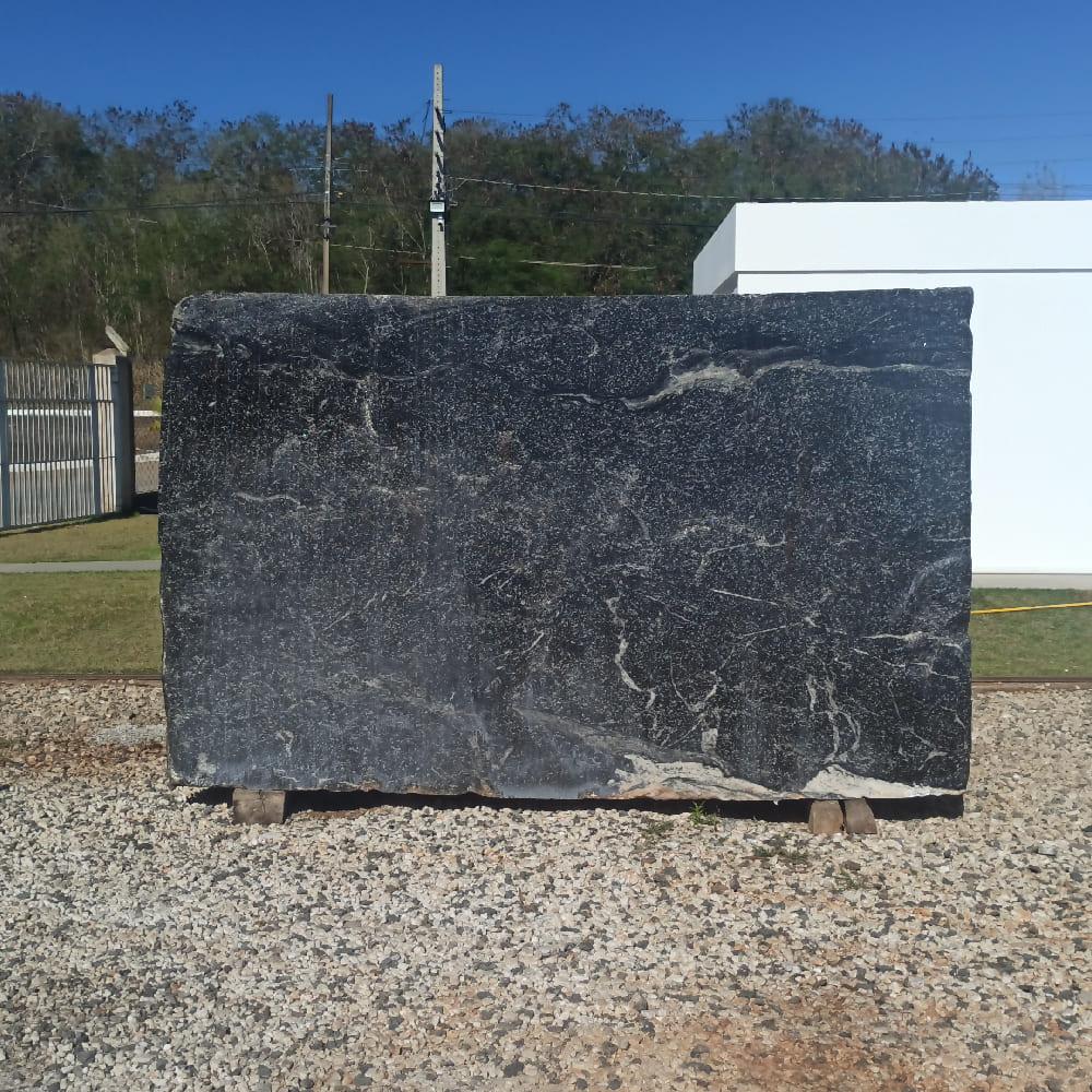 Bloco de Granito American Black - Bloco nº133 - Premium