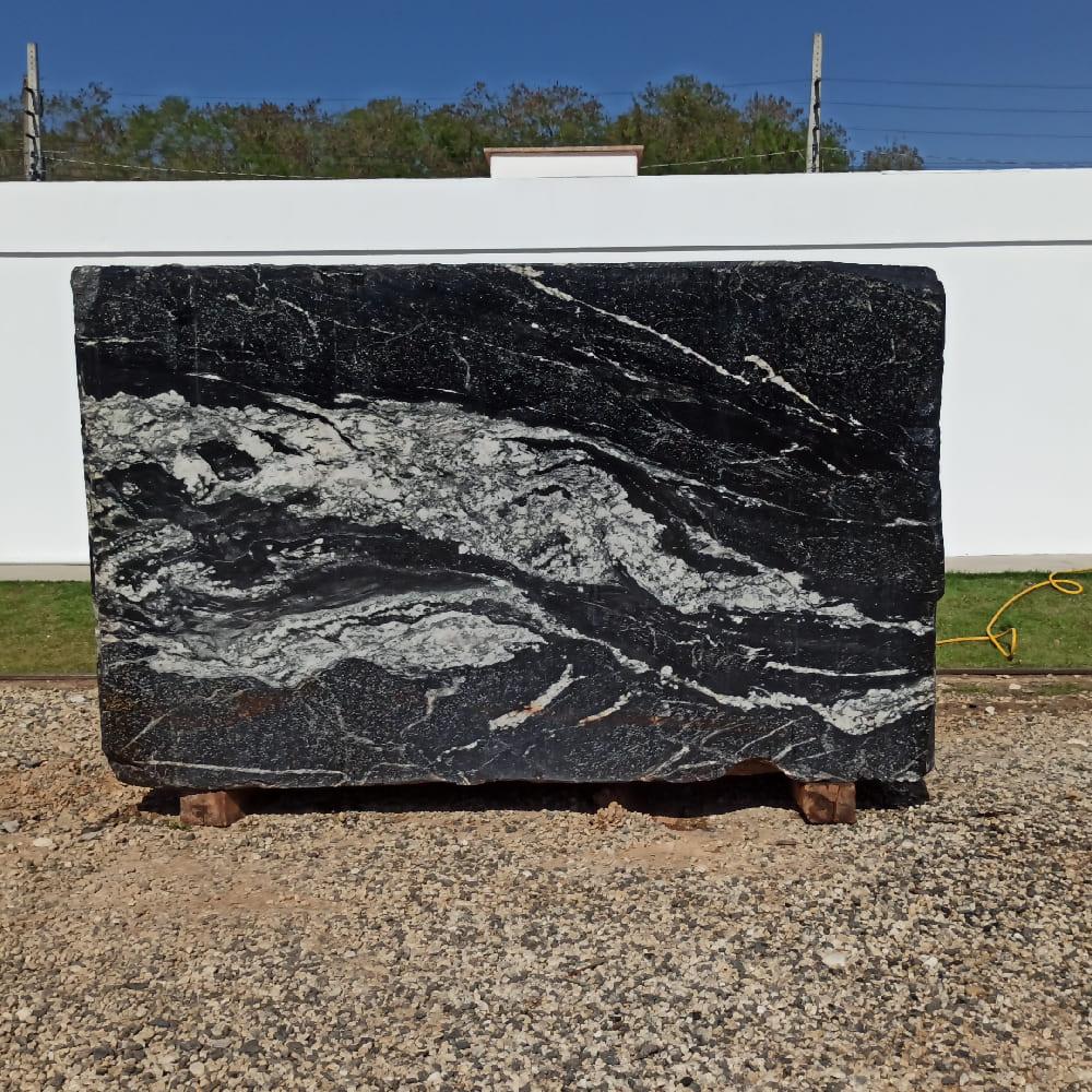 Bloco de Granito American Black - Bloco nº138 - Premium