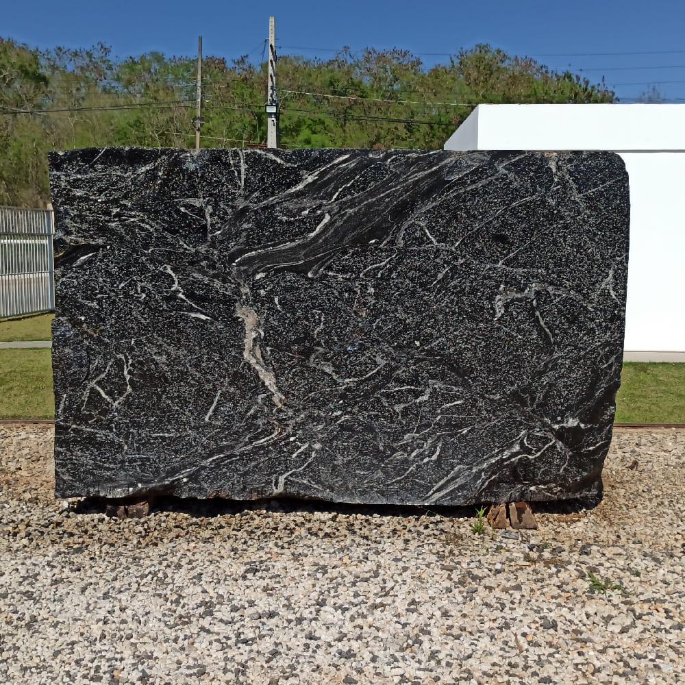 Bloco de Granito American Black - Bloco nº152 - Premium