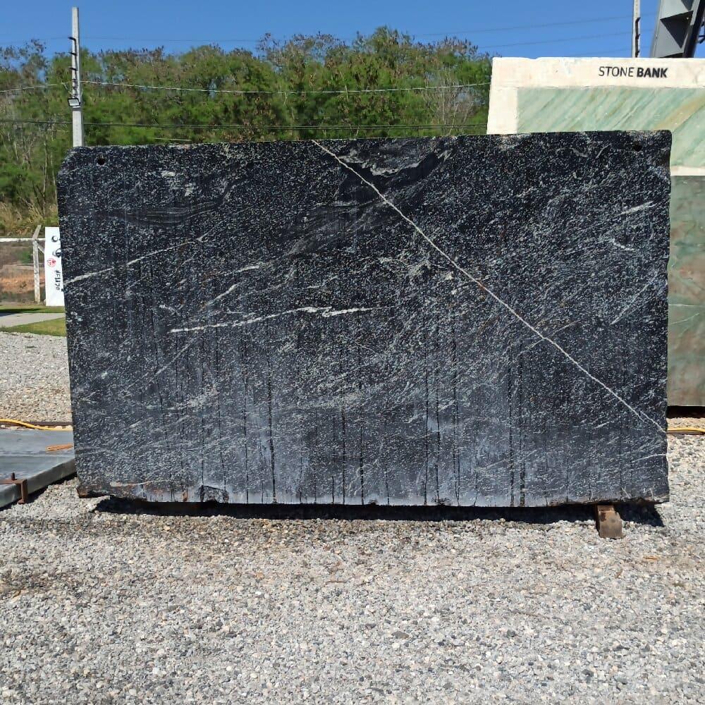 Bloco de Granito American Black - Bloco nº156 - Premium
