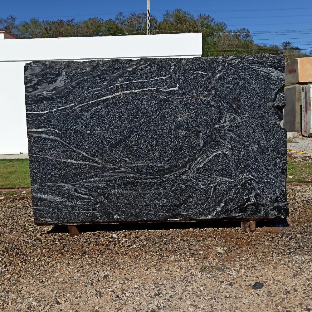 Bloco de Granito American Black - Bloco nº168 - Premium