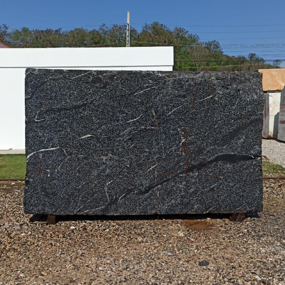 Bloco de Granito American Black - Bloco nº172 - Premium