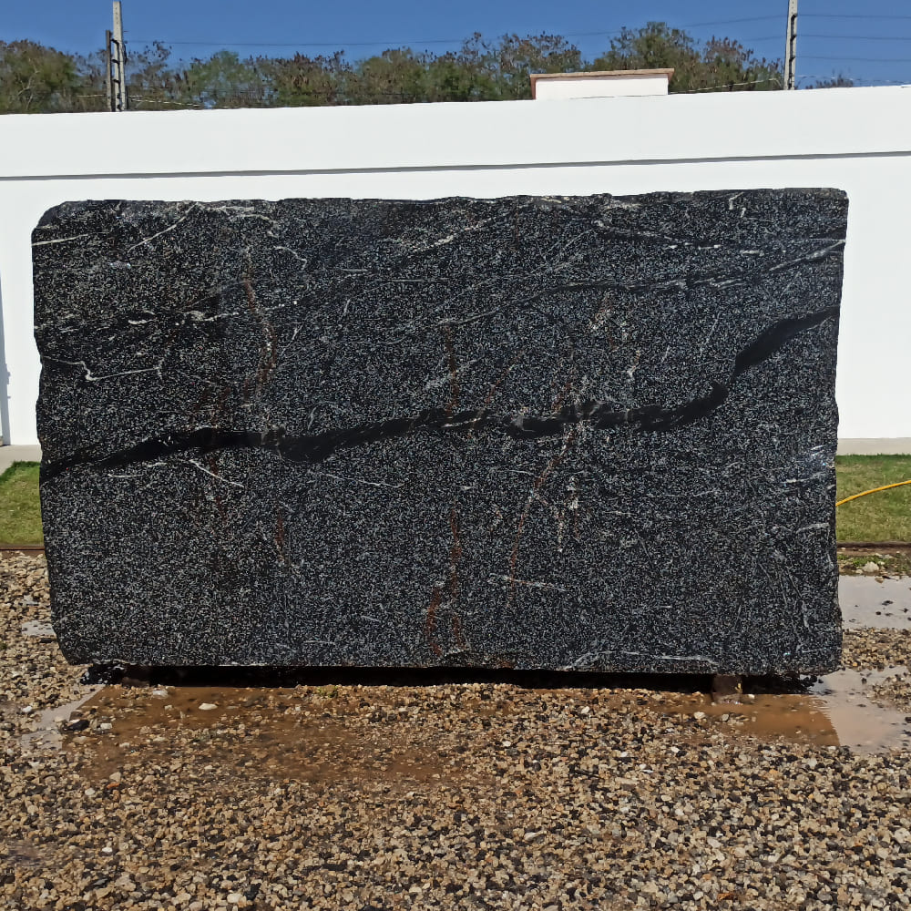 Bloco de Granito American Black - Bloco nº173 - Premium
