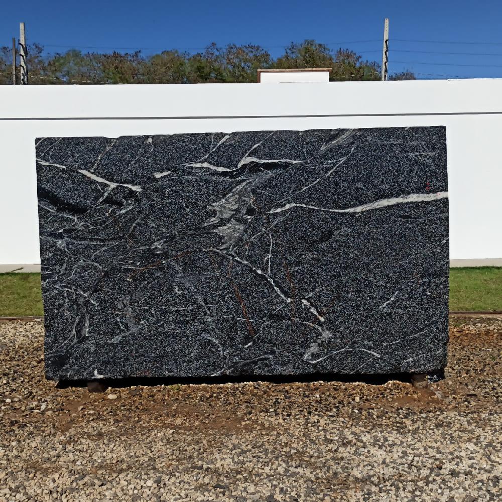 Bloco de Granito American Black - Bloco nº175 - Premium